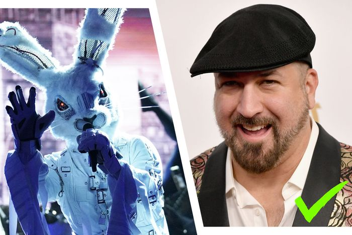 Confirmed: The Rabbit is Joey Fatone!