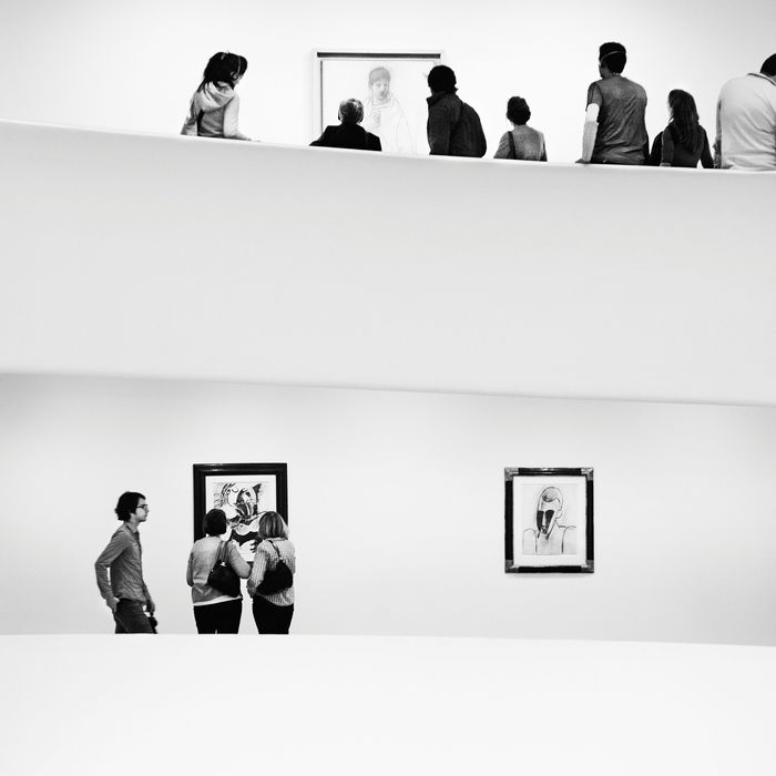 Picasso exhibit at the Guggenheim Museum