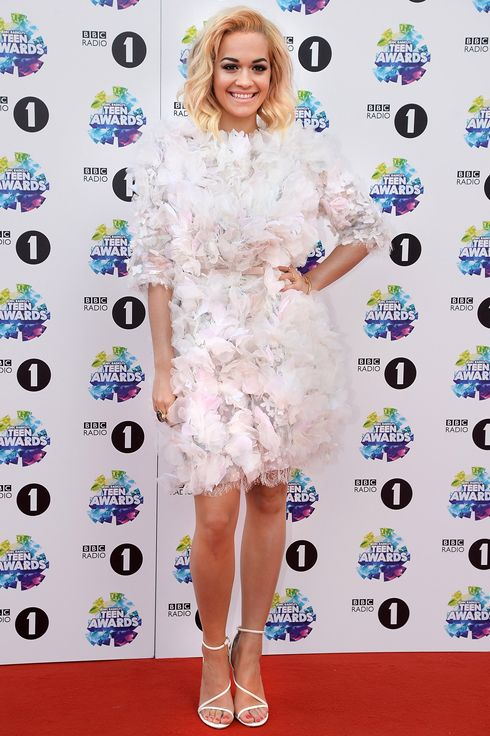 Singer Rita Ora attends the BBC Radio 1 Teen Awards at Wembley Arena on November 3, 2013 in London, England.