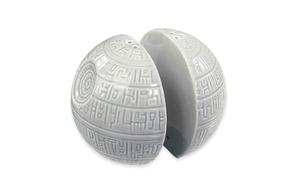 Death Star Salt & Pepper Shakers