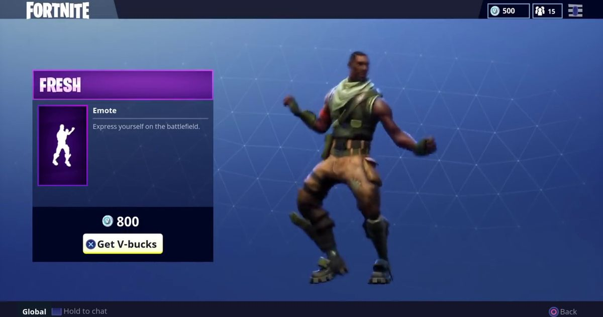 even if the fortnite emote lawsuits fail this issue isn t going away - fortnite floss moving image