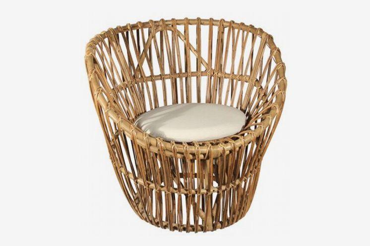 Ibolili Sunburst Papasan Chair