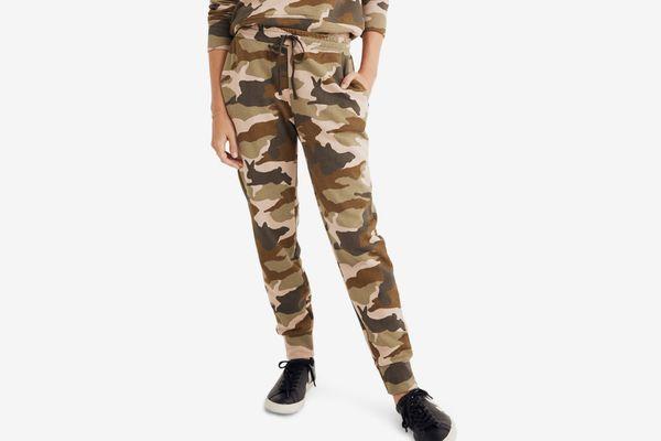Madewell Cottontail Camo Sweatpants