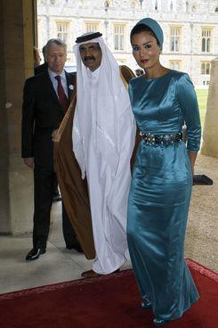 Sheikha Mozah.