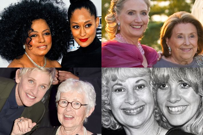 Celebrities With Their Moms Pictures | POPSUGAR Celebrity