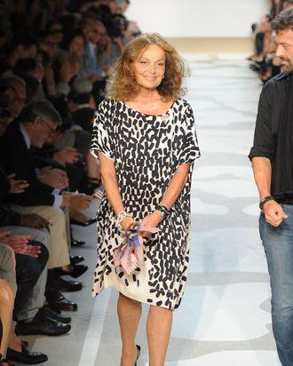Diane Von Furstenberg.