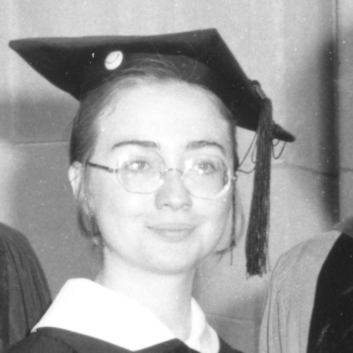 Hillary Clinton at Wellesley.