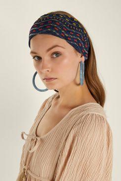 Missoni Mare Zigzag Knit Headband