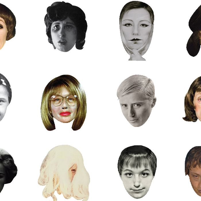 Cindy Sherman emoticons to improve your phone.