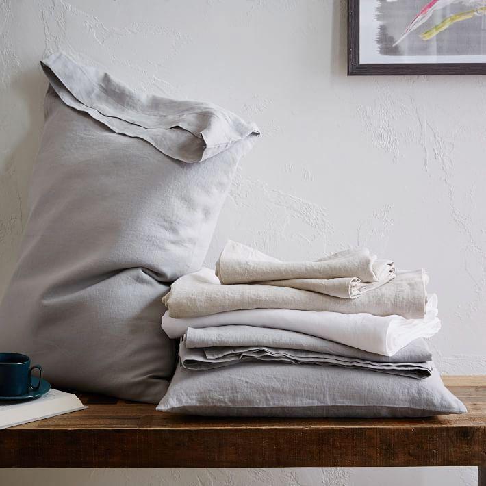 Belgian Flax Linen Pillowcase (Set of 2)