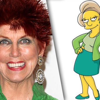 marcia wallace simpsons