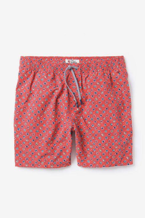 Love Fall Rose Mens Casual Classic Fit Short Summer Beach Shorts