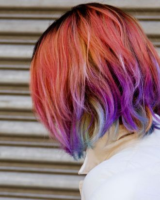 Why I Dye My Hair Every Color Of The Rainbow