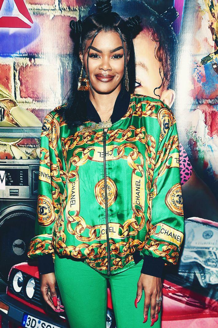 New OPI Ambassador Teyana Taylor Opening a \'90s Nail Salon