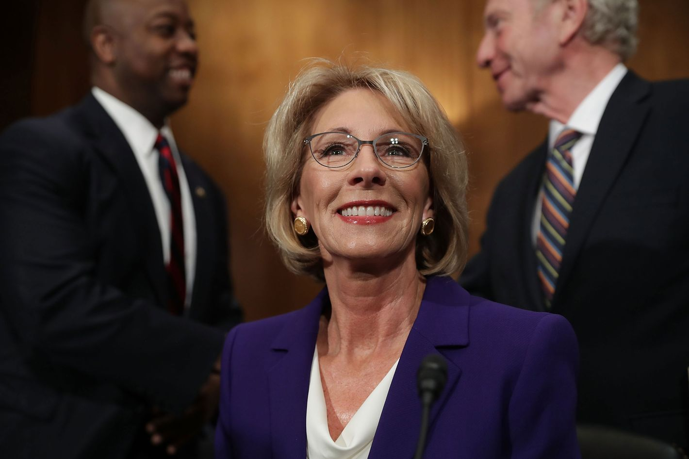 Betsy Devos Deputy Privately Admitted >> Does Betsy Devos Really Believe In Public Schools