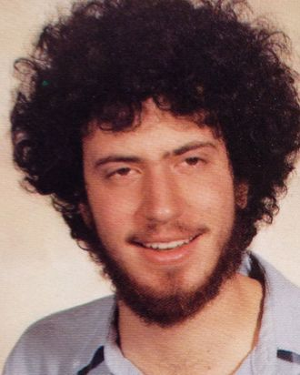 NYU yearbook photo 1983 Bill de Blasio as Bill Wilhelm