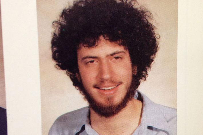 NYU yearbook photo 1983 Bill de Blasio as Bill Wilhelm