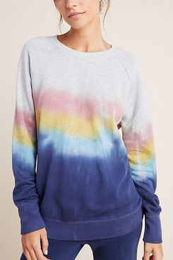Sundry Myrna Tie-Dyed Pullover