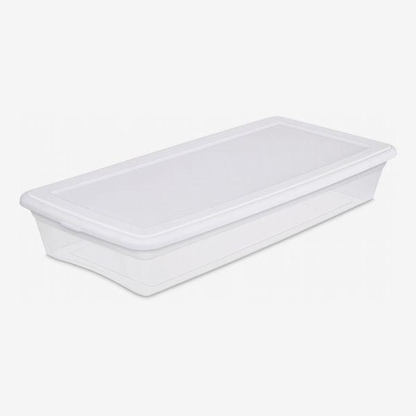 Caja debajo de la cama Sterilite de 41 qt