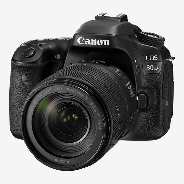 Canon 80D DSLR Camera With 18--135mm Lens