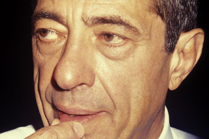 Mario Cuomo attends Robert F. Kennedy Memorial Reception on July 12, 1992 at Gracie Mansion in New York City.