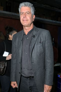 Chef Anthony Bourdain attends The Inagural World Street Food Congress 2013 at Spice Market on February 25, 2013 in New York City.