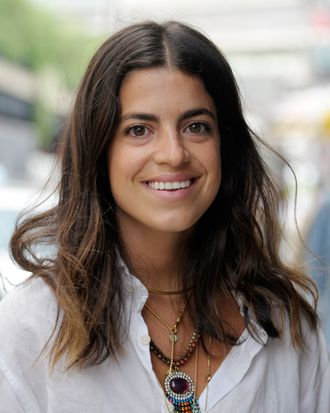 Blogger Leandra Medine attends the Owen New York Boutique Opening at Owen NYC on June 5, 2012 in New York City.