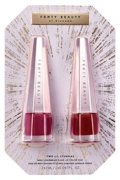 Fenty Beauty Two Lil Stunnas Mini Longwear Fluid Lip Colour Duo Set