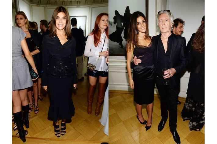 The Roitfeld family.