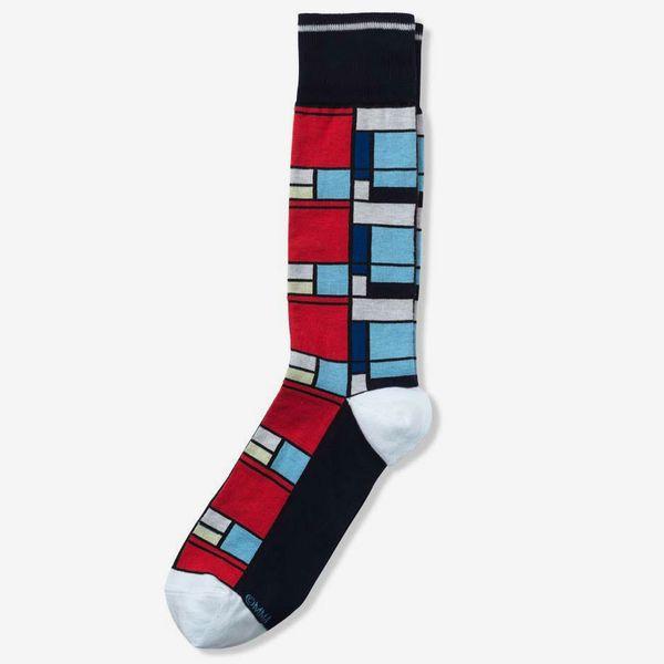 Mondrian Men's Socks