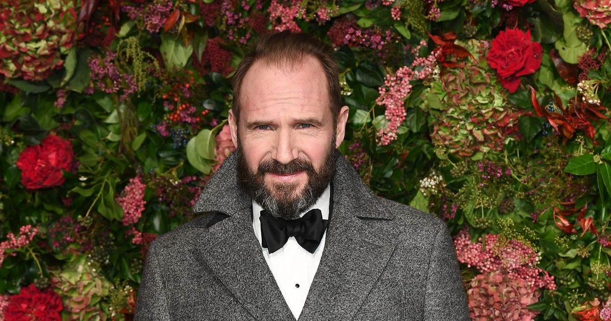Ralph Fiennes Is an Extremely Fancy Boy