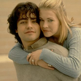 01 Jan 1999 --- Original caption: Adrian Grenier and Melissa Joan Hart. --- Image by ? Bureau L.A. Collection/Sygma/Corbis