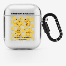 CASETiFY & Pokémon Checker Pikachu AirPods Case