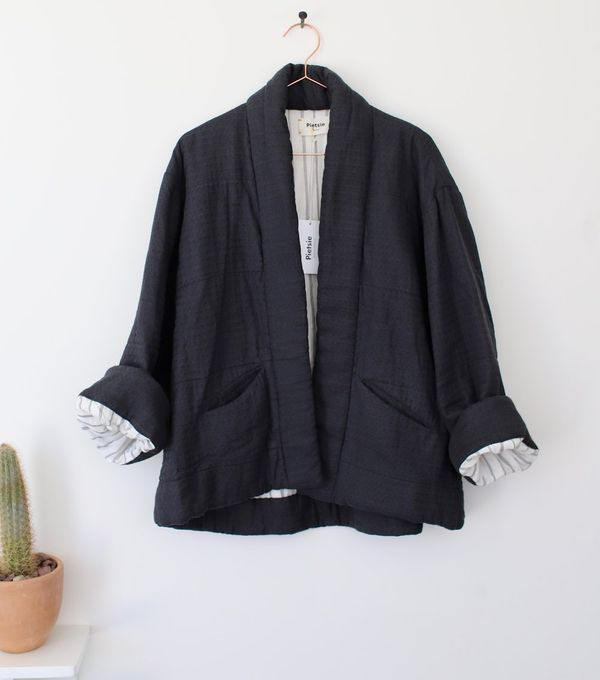 Pietsie Kuril Quilted Jacket - Vintage Black