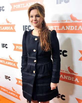 Amber Tamblyn, courageous swag-lover.