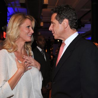 NEW YORK, NY - SEPTEMBER 30: Author Sandra Lee and New York Governor Andrew Cuomo attend Diet Pepsi Spices Up NYC's Wine and Food Festival - Sweet with Sandra Lee on September 30, 2011 in New York City. (Photo by Fernando Leon/Getty Images for Diet Pepsi)