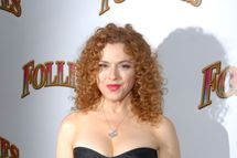 "NEW YORK, NY - SEPTEMBER 12: Bernadette Peters attends the ""Follies"" Broadway opening night at the Marquis Theatre on September 12, 2011 in New York City. (Photo by Michael N. Todaro/Getty Images)"