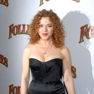 NEW YORK, NY - SEPTEMBER 12: Bernadette Peters attends the
