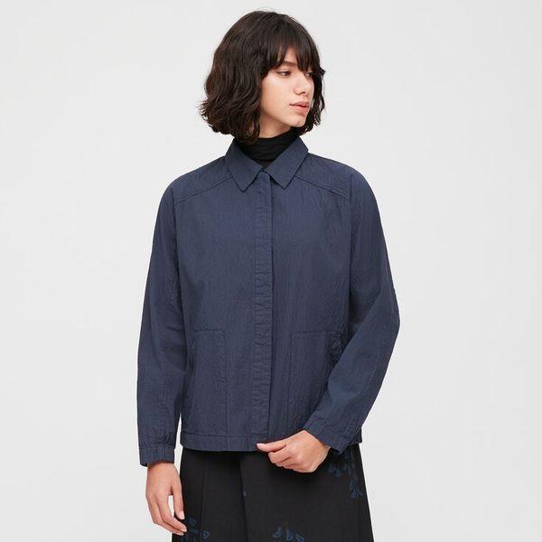 Uniqlo Women's Seersucker Jacket (Hana Tajima)