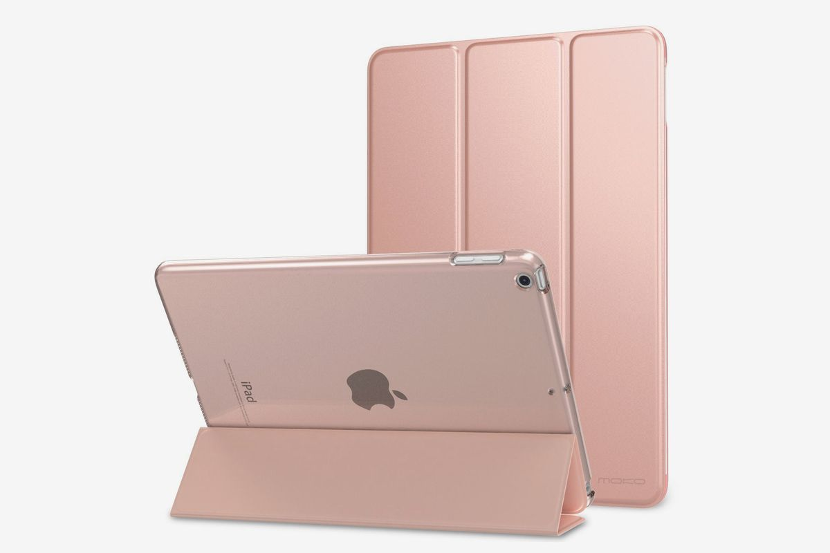 Kenke iPad Case 9.7 Inch for 2017//2018,Ultra Slim Lightweight Smart Case Stand with Magnetic Wake//Sleep Function,iPad Cover for 5th//6th Generation-Hard Shell Rose Gold