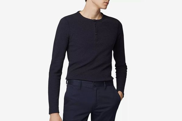 BOSS Trix Long-Sleeve Slim Fit Henley