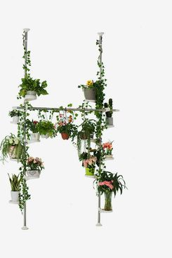 Baoyouni Indoor Plant Stands Double Tension Pole