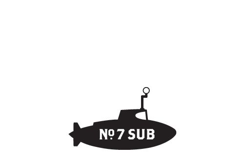 You'll have to hit No. 7 Sub today for your fix.