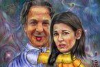 Nigella Lawson's Ex-Husband Profits From This Art That Depicts Her Getting Choked