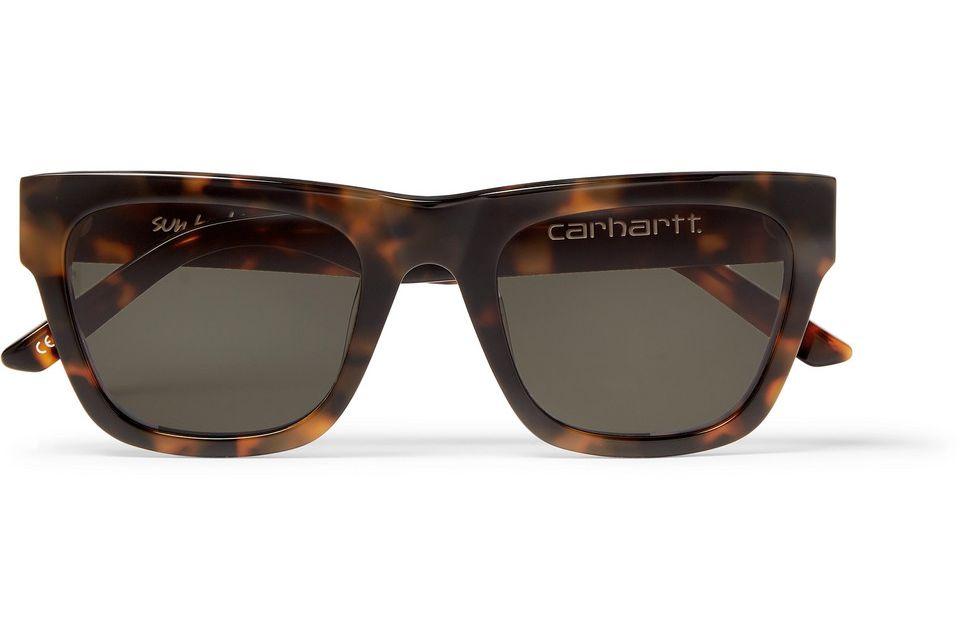 Sun Buddies + Carhartt WIP Tortoiseshell Acetate Sunglasses