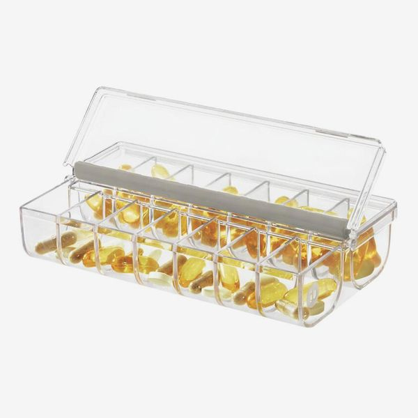 The Home Edit by iDesign Pill Organizer with Labels