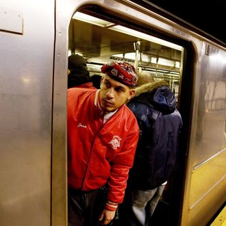 Guardian Angels in the subway