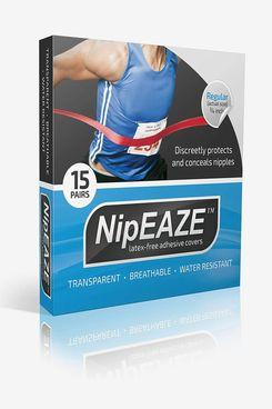 NipEaze Transparent Nipple Cover, Regular (15 Pairs)