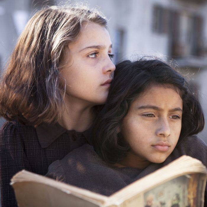 Elisa Del Genio and Ludovica Nasti in My Brilliant Friend.