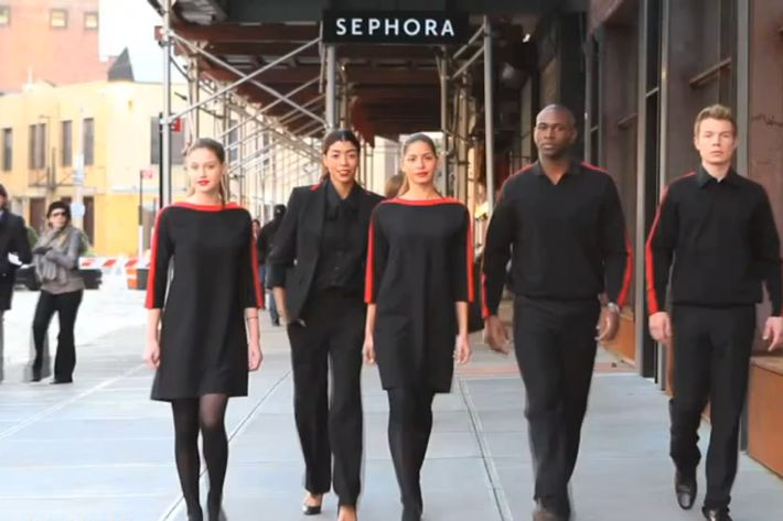 Prabal's new Sephora uniforms.